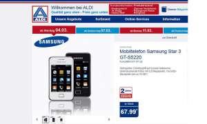 Aldi Nord: Samsung Star 3