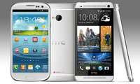 HTC One, Samsung Galaxy S3