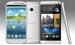HTC One, Samsung Galaxy S3
