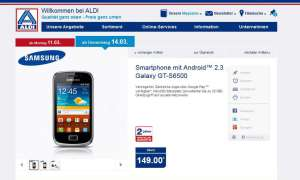 Aldi Nord,Aktion,Samsung Galaxy Mini 2