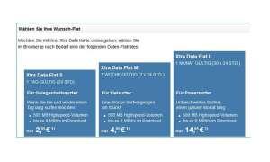 Telekom Xtra Datenflat