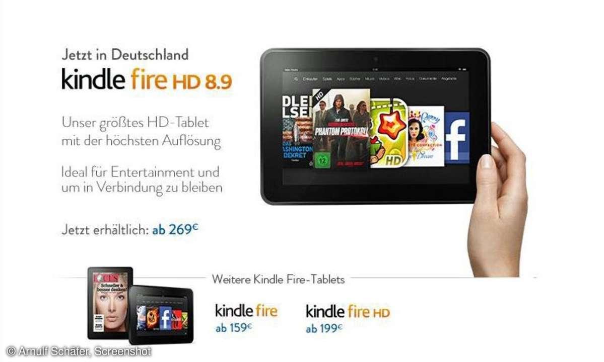 Amazon,Kindle Fire HD 8.9