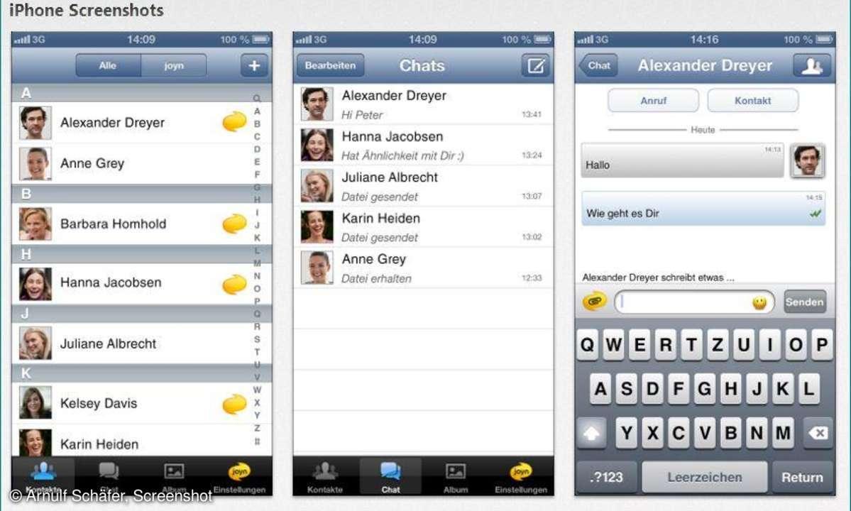 Joyn iOS-App