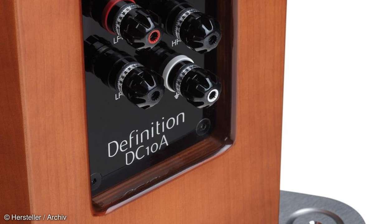 Tannoy Definition DC10A - Anschlüsse