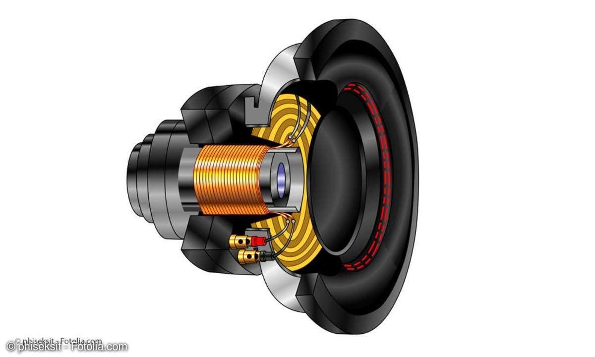 Lautsprecher-Magnet