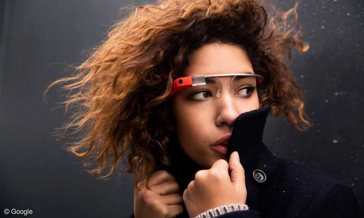 Google Project Glass, Datenbrille