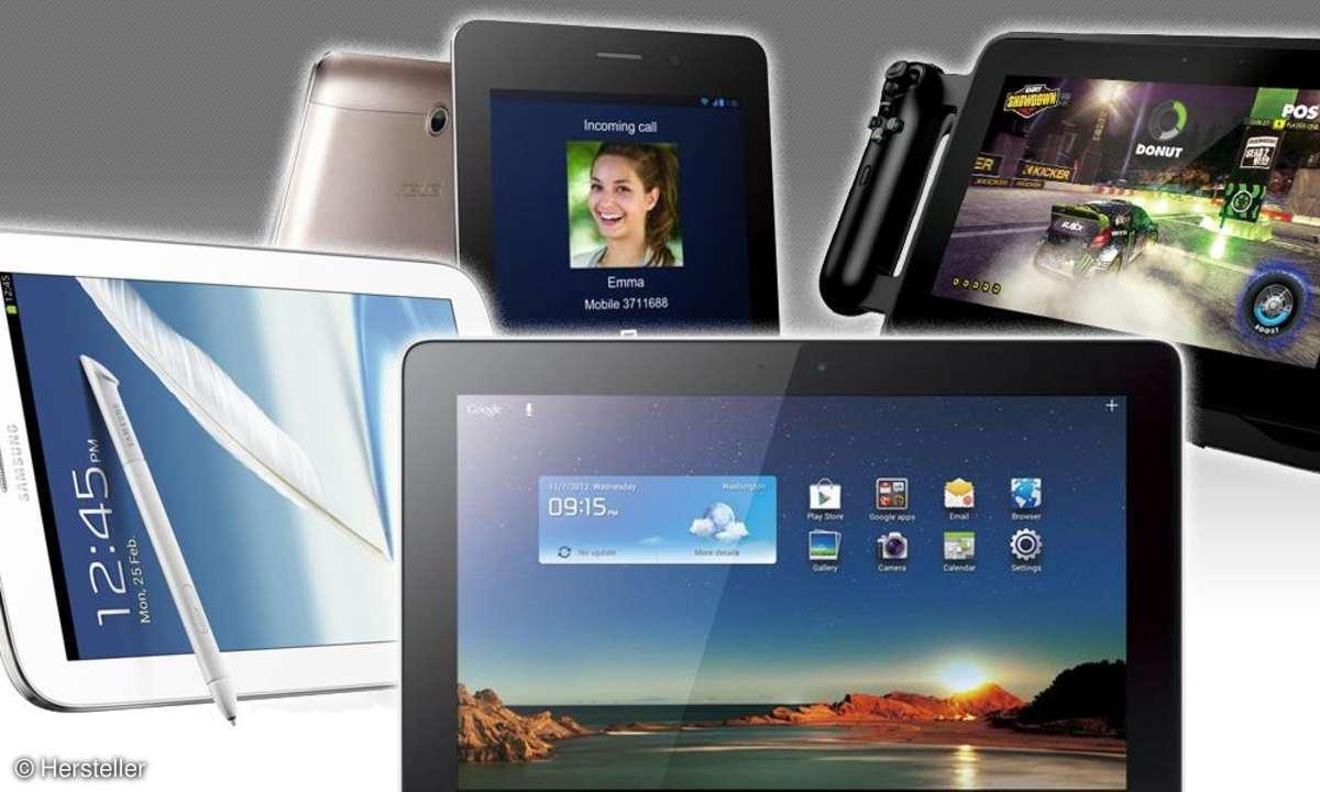 Note 8.0, Fonepad, Mediapad 10, Edge