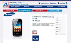 Aldi Nord,Samsung Galaxy Pocket