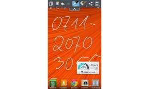 LG Optimus G - Quick Memo