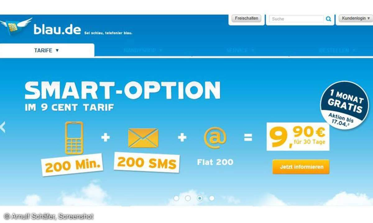 Blau.de, Smart-Option