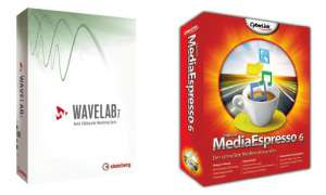 Wavelab 7.2  & Media Espresso 6