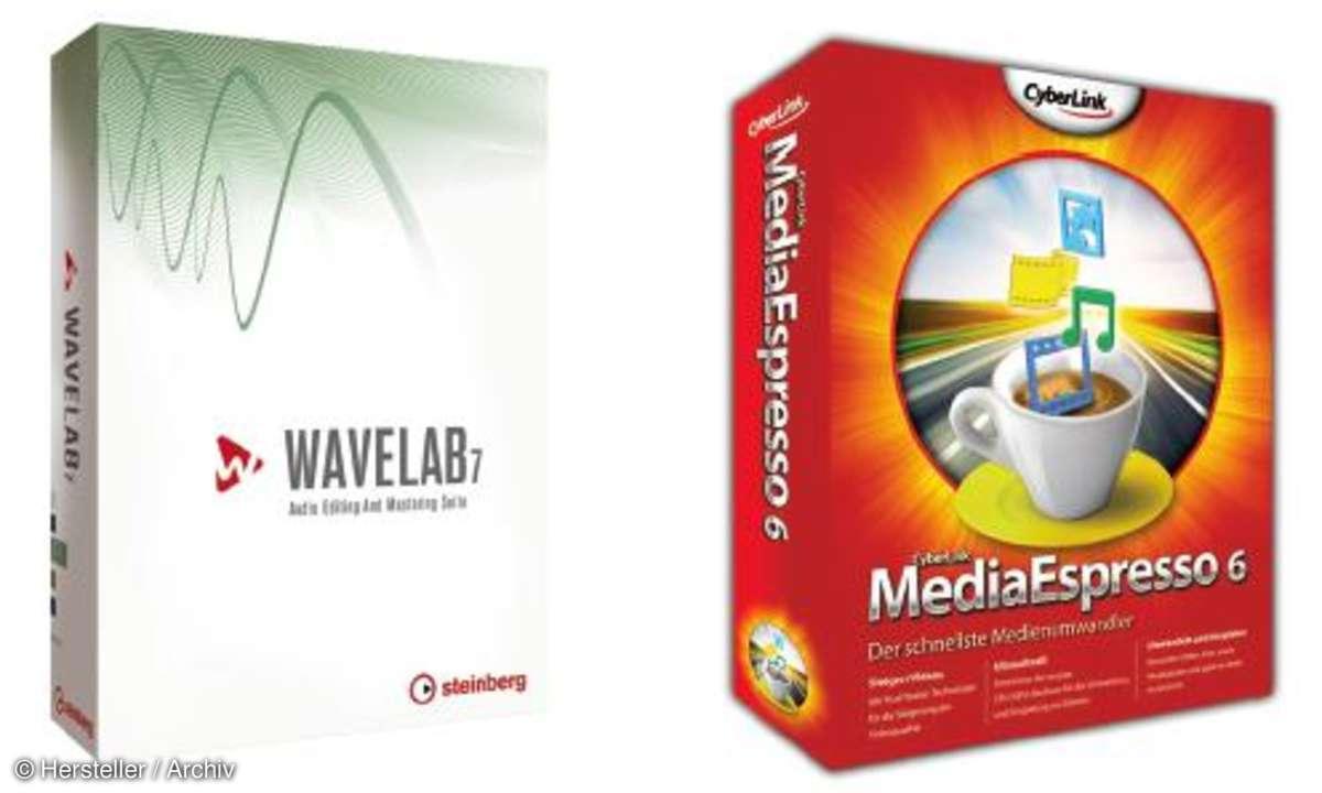 Wavelab 7.2  & Media Espresso 6
