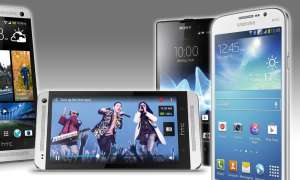 HTC One, Xperia E, Galaxy Mega