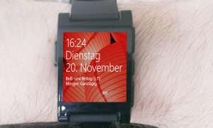 Microsoft-Uhr