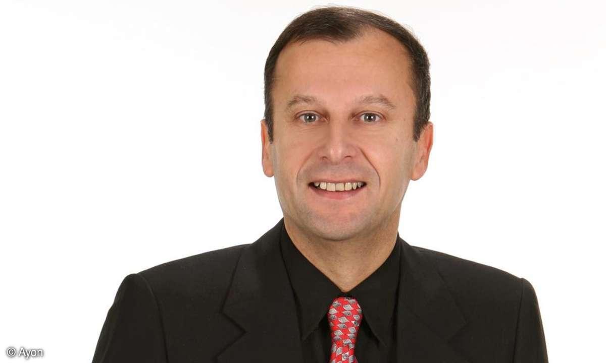 Ayon-Chef Gerhard Hirt