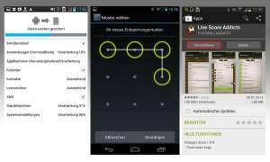 Android Sicherheitseinstellungen