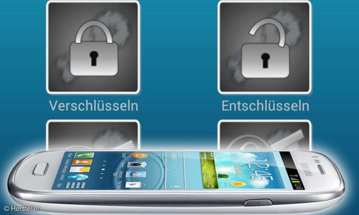 Datensicherheit bei Handys