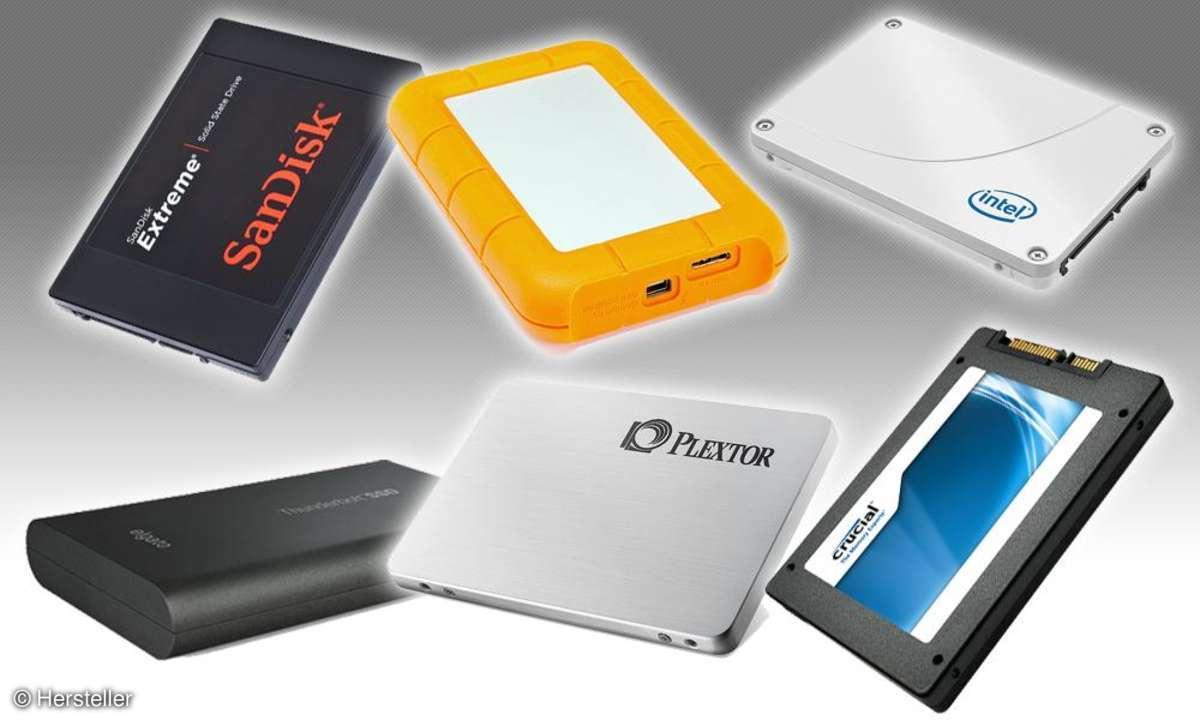 SSDs im Vergleichstest