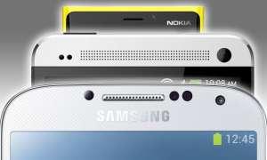 Galaxy S4, HTC One, Lumia 920