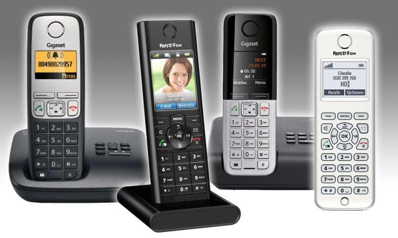 dect telefone die beliebtesten bis 100 euro connect. Black Bedroom Furniture Sets. Home Design Ideas