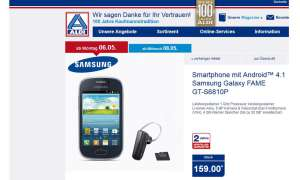 Aldi Nord, Samsung Galaxy Fame