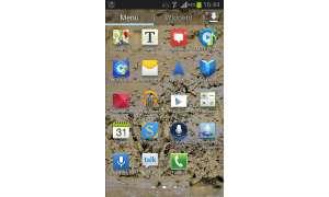 Samsung Galaxy Xcover 2 - Hauptmenü