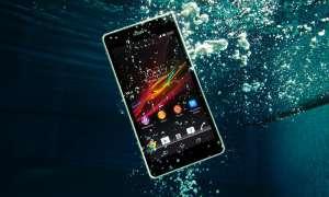 Sony Xperia ZR,wasserdicht,IP 58
