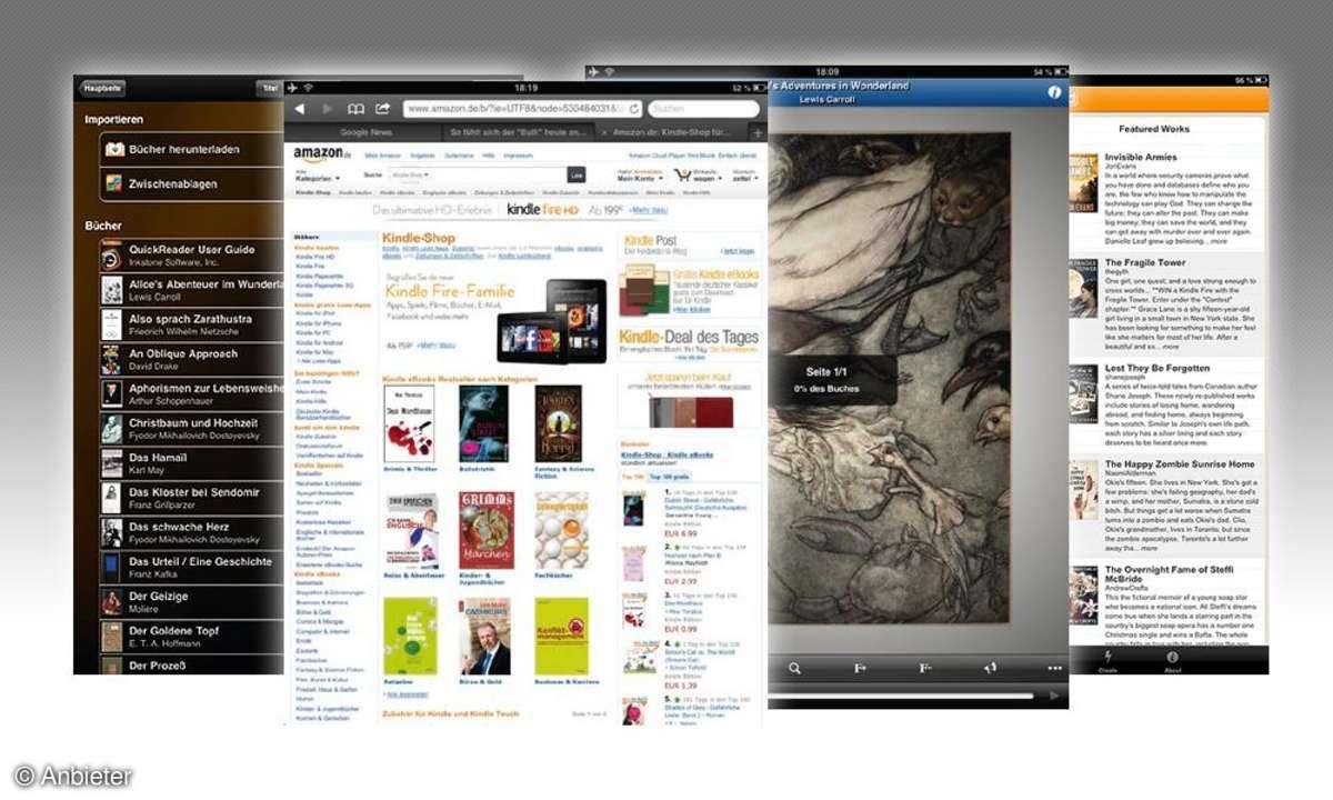 E-Book-Reader-Apps