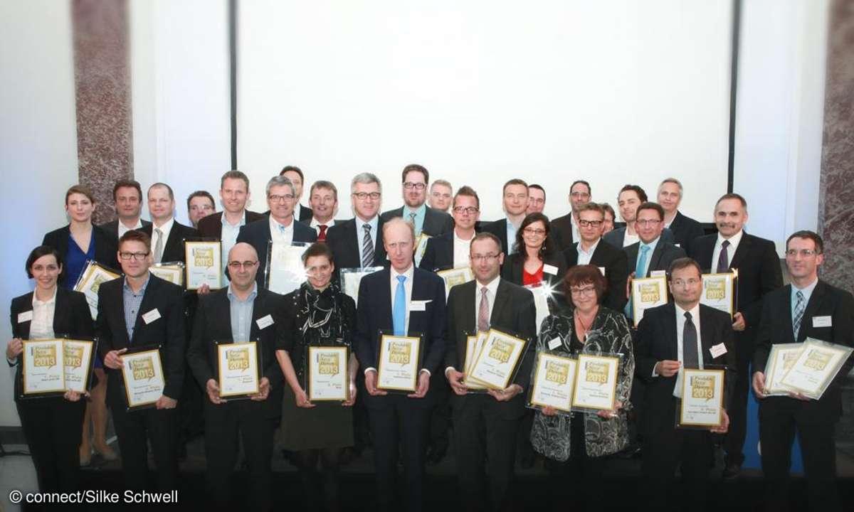 Preisverleihung connect-Leserwahl 2013