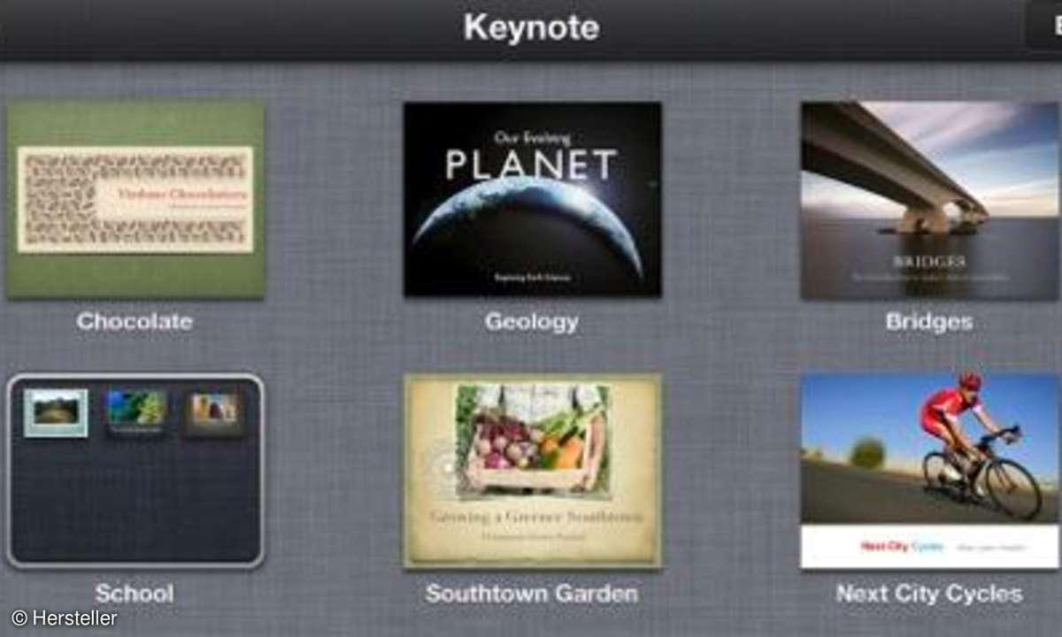 iOS Keynote