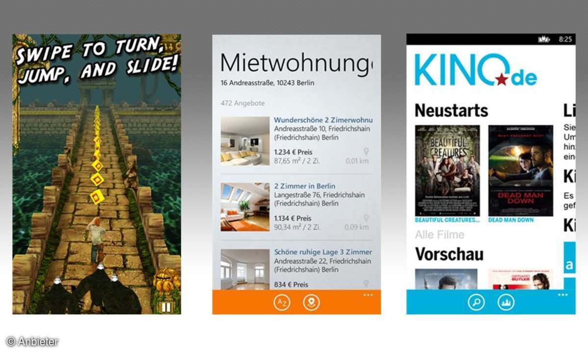 Apps für Windows Phone 8