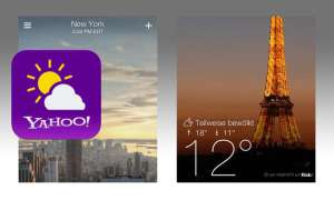 Yahoo Wetter App