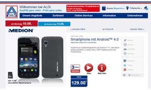 Aldi,Medion Smartphone Life P4013