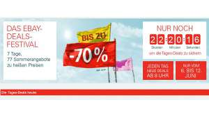 Ebay Deals Festival