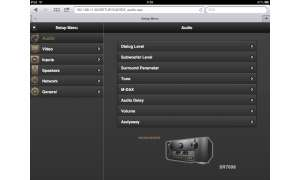 Marantz Setup iPad