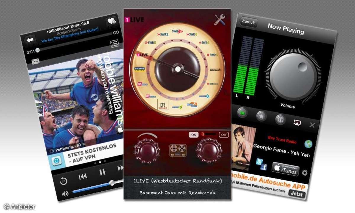 Apps zum Radiohören