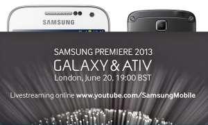 Samsung Launch Galaxy & Ativ