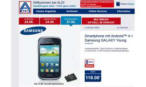 Alid Nord, Samsung Galaxy Young