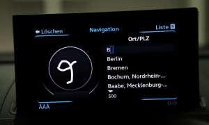 Audi A3 Navigationssystem