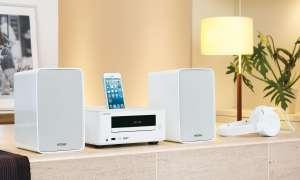 Onkyo Minisystem, effizienter Digitalverstärker