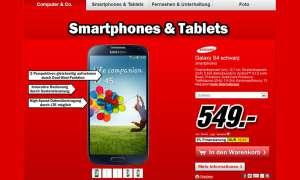 Mediamarkt,Samsung Galaxy S4