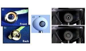 Makuladegeneration:  Fortschritt bei Teleskop-Kontaktlinsen
