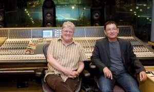 Mix-Meisterin Leslie Ann Jones und Produzent Herbert Waltl