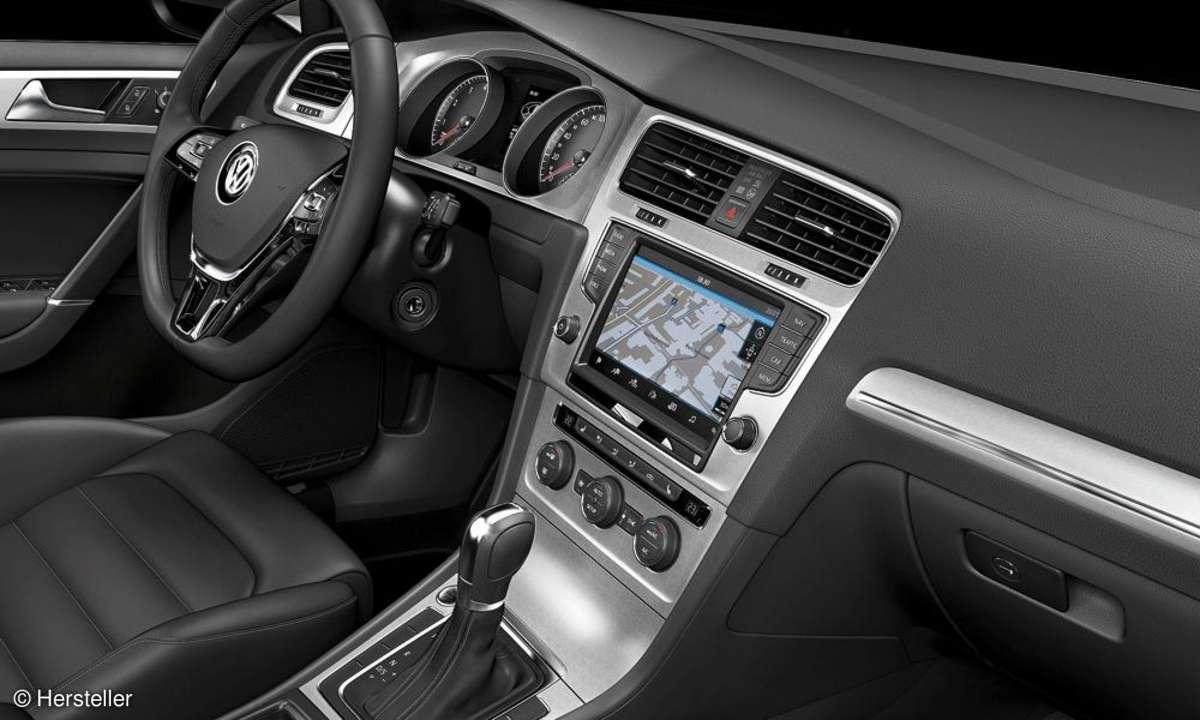 VW Golf Navigationssystem