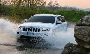Macht gewöhnliche SUVs im Gelände nass: Jeep Grand Chrerokee.
