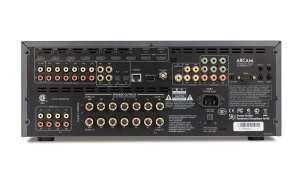 Acram AVR750 Anschüsse
