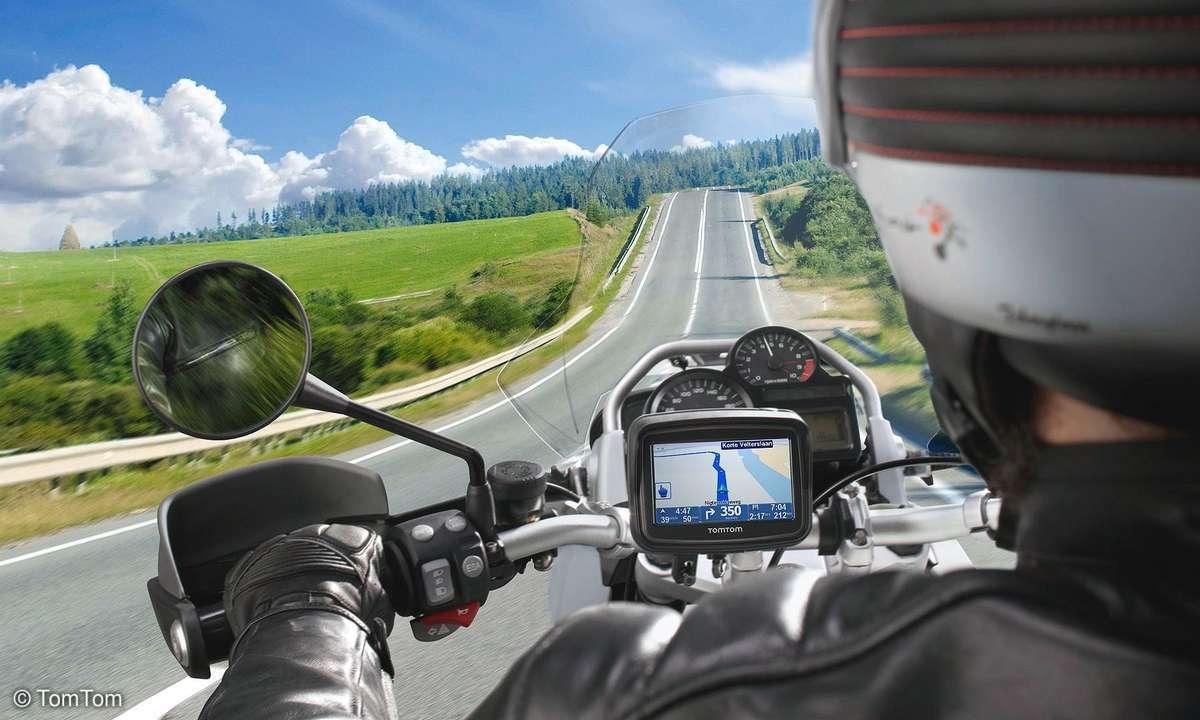TomTom Rider im Einsatz