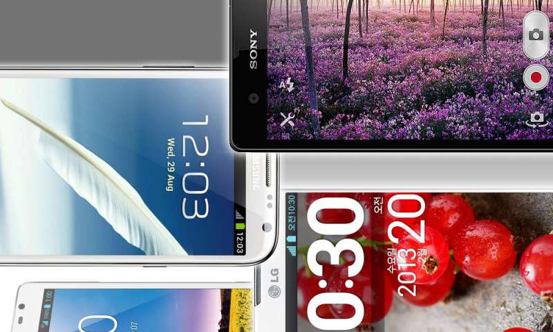 smartphones mit 5 zoll display xperia z bis galaxy grand. Black Bedroom Furniture Sets. Home Design Ideas