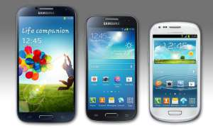 Samsung Galaxy S4, S4 mini, S3 mini
