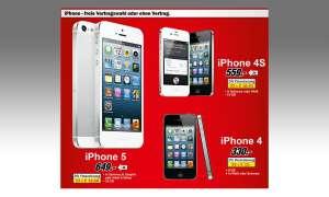 Media Markt: iPhones im Angebot